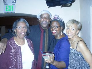 Mom, Uncle Eddie, myself and cousin Marcia
