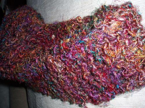 Silk Sari Yarn Scarf